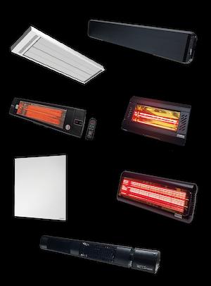 Elektrische infrarood verwarming
