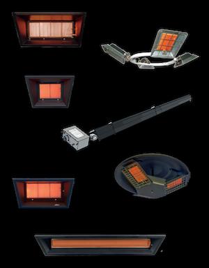 Gas infrarood verwarming